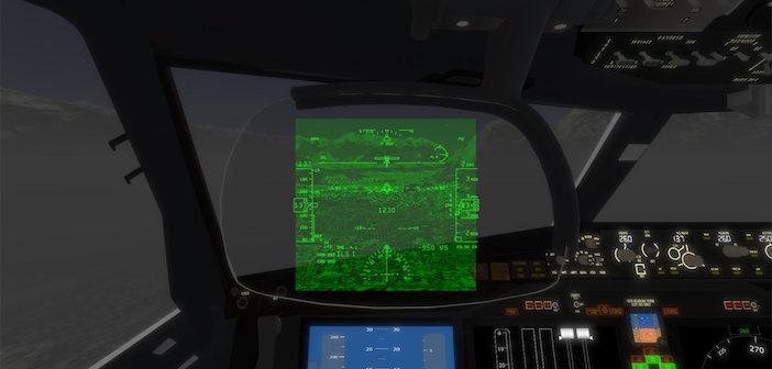 HUD VR example