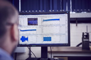 Pressure and load sensors provide data for analysis by engineers during a ditch test