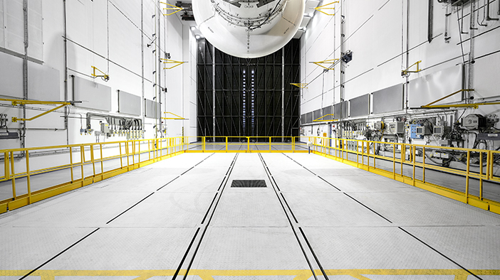 engine testing chamber