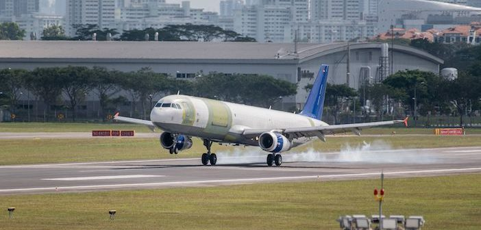 Converted A321 cargo aircraft receives certification