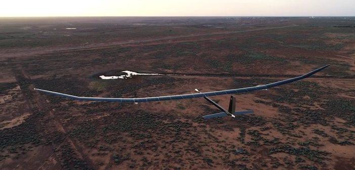 solar powered drone