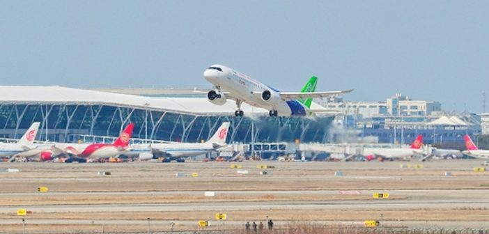 C919 test aircraft