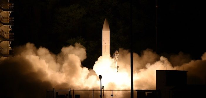 A common hypersonic glide body (C-HGB) launches