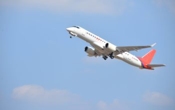 Mitsubishi Aircraft Corporation completed the maiden flight of Flight Test Vehicle 10 (FTV10)