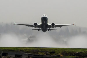 Boeing's 737 Max 8 was certified by the FAA in 2017, the airplane is seen here taking off over Lake Washington (Photo: Matthew Thompson/Boeing)