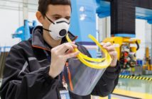 Airbus' plants in Spain are producing 3D printed visor frames, providing healthcare personnel with individual protection equipment in the fight against Covid-19