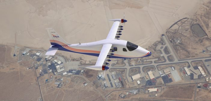 X-57 concept images released ahead of first flight