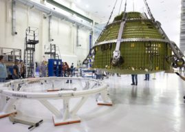 Orion prepares for space with advanced data acquisition system
