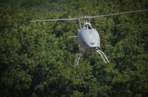 The prototype of Airbus Helicopters' VSR700 unmanned aerial system has performed its first free flight © Thierry Rostang