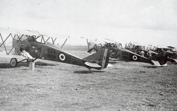 Rome-Tokyo raid biplanes