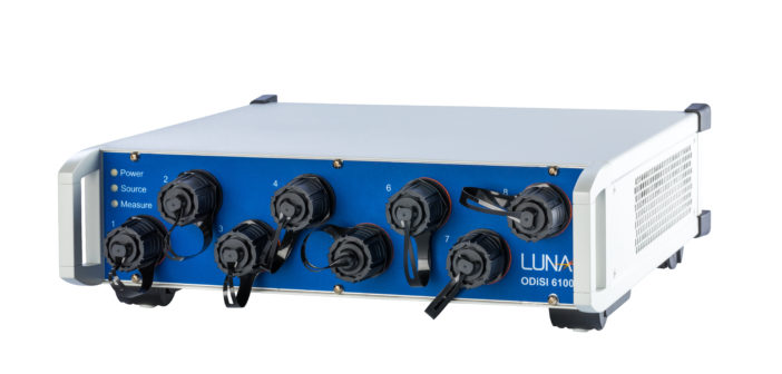 Luna Innovations' strain sensor compared to traditional foil gage