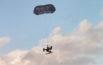 drone parachute test