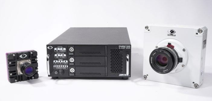 The Phantom S-CXP DVR connects to any Phantom high-speed machine vision camera over CoaXPress