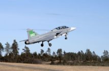 Gripen biofuel test flight