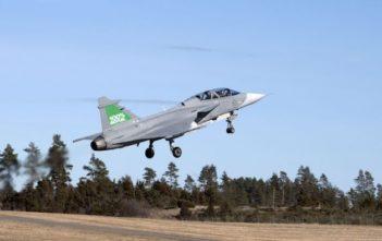 Gripen biofuel test flight
