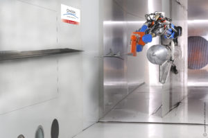 Artist's impression of the wind tunnel tests soon to be conducted as part of the EU's RUMBLE project
