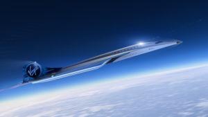 Mach 3 aircraft design for high speed travel