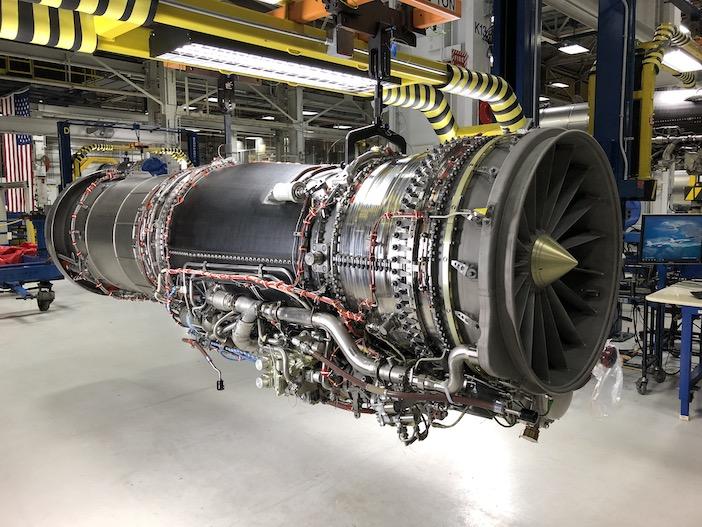 The F414-GE-100 engine