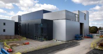 UK's £105 million satellite testing center takes shape