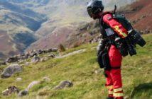 Jet suit paramedic