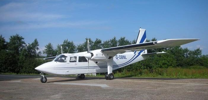 Islander aircraft