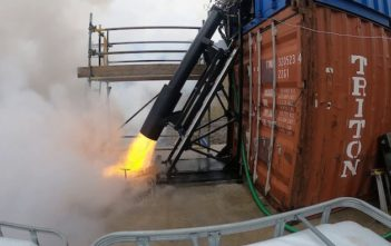 Skyora rocket test