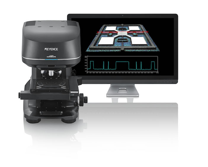 3D Laser microscope