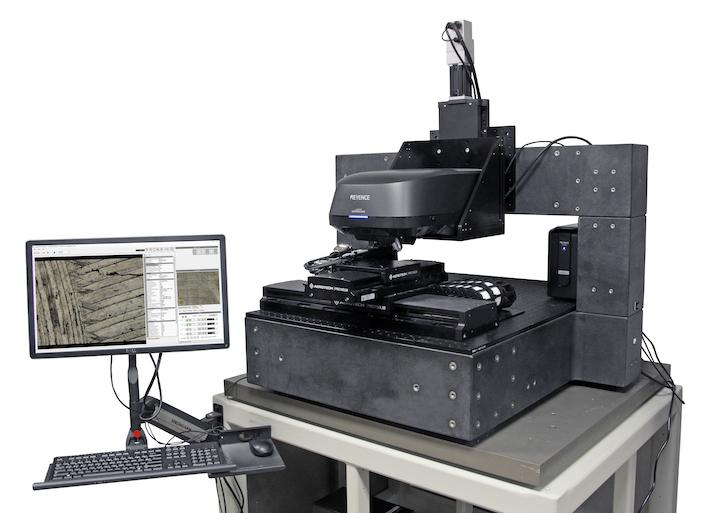 Keyence VK-X1000 3D laser scanning microscope