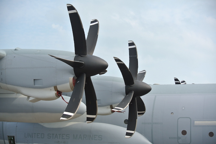 C-130 Hercules propeller