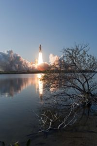 Launch of STS-133, Space Shuttle Discovery's final mission, in February 2011(Photo: NASA/ Sandra Joseph and Kevin O'Connell)