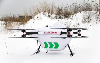 Cargo drones capable of transporting heavy payloads are entering flight test and some experts expect them to start operational service before air taxis carry passengers in urban areas