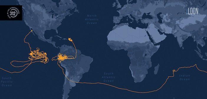 loon's longest test flight