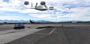 The Rhaegal-B drone is designed to fly in challenging conditions to remote locations