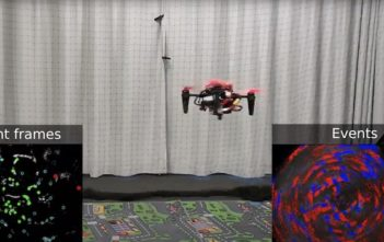 spinning drone