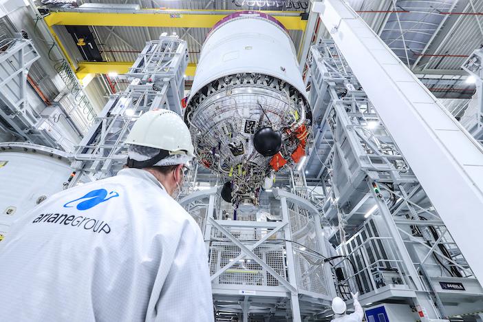 Ariane 6 upper stage