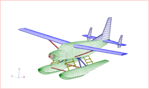 Australian-Spanish start-up Dante Aeronautical is doing the aerodynamics work for Sydney Seaplanes' eCaravan certification project