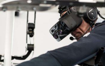 VR Flighr simulator