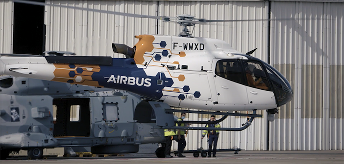 Flight Lab helicopter