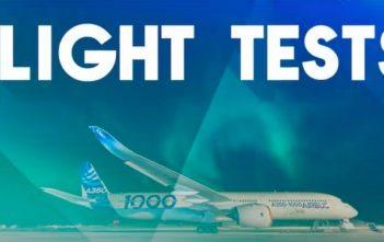 Flight test video