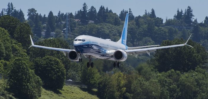 Boeing 737-10 completes first test flight