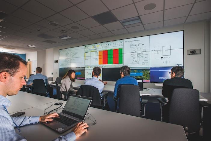 Control room at AIrtec
