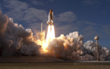 Atlantis space shuttle launch