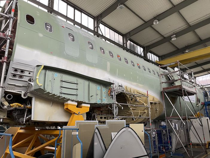 A321XLR demonstrator