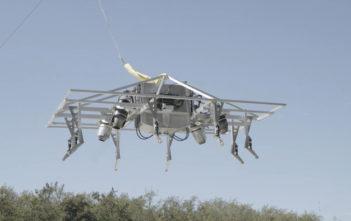 Jet pack aviation prototype VTOL