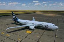 Boeing 737 Max 9 ecoDemonstrator aircraft