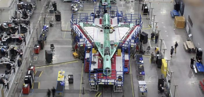 VIDEO: Watch the X-59 QueSST supersonic aircraft take shape at Lockheed Martin's Skunk Works