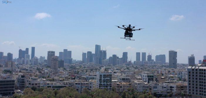 Tel Aviv Drone landscape
