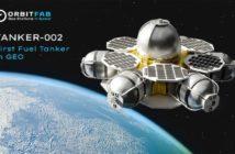 Orbital refuelling tanker