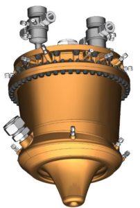 Aerospike engine design drawing