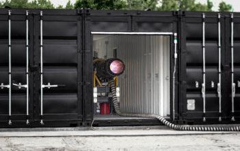 Engine under test
